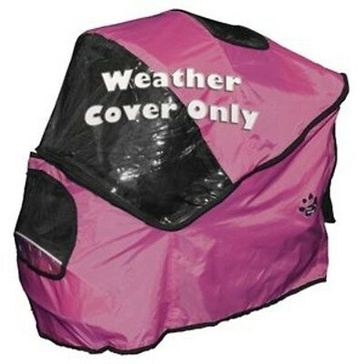 Weather Cover, Special Edition Pet Stroller-Raspberry