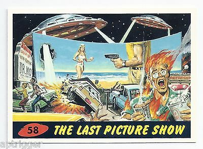 1994 Topps MARS ATTACKS Base Card # 58 The Last Picture Show