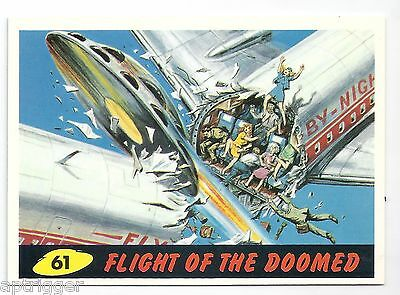 1994 Topps MARS ATTACKS Base Card # 61 Flight Of the Doomed