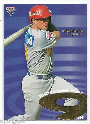 1996 Futera ABL Bottom of the 9th (BON1) Andrew SCOTT #1158