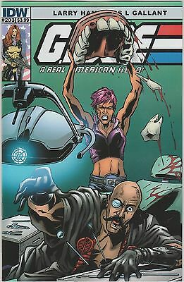Idw Comics G.i. Joe A Real American Hero #203 May 2014 1St Print Nm