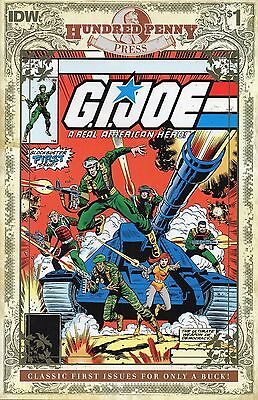 Idw Comics Gi Joe A Real American Hero #1 Hundred Penny Press Reprint Nm
