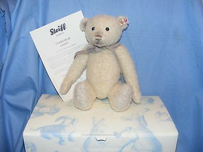 Steiff Teddy Bear Crispy Limited Edition 021596 2016 NEW Jointed With Squeaker