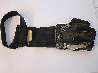 NEW Kolpin 3 Finger Archery Glove Camo Extra Large USA 404440 LOTS More Listed