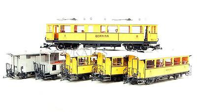 Lgb G Gauge 21000 100 Years Of Bernina Set Plus Two Extra Coaches 30550