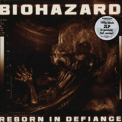 "BIOHAZARD ""REBORN IN DEFIANCE"" 180gr. 2xLP NEW & SEALED! N.Y.HC./METAL"