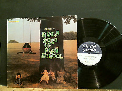 SING A SONG OF PLAY SCHOOL  BBC TV   LP       Great !!