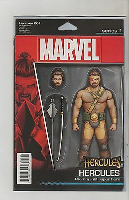 Marvel Comics Hercules #1 January 2016 Action Figure Variant 1St Print Nm