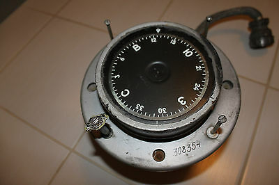 RARE Soviet Aviation Compass-Gyroscope TU-16 Russian BOMBER Magnetic Working BIG