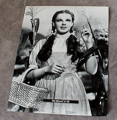 Wizard of Oz 1939-1989 Dorothy Judy Garland B&W Movie Classic Video Poster EX C8