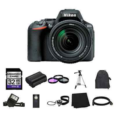 Nikon D5500 DSLR Camera w/18-140mm Lens 32GB Full Kit
