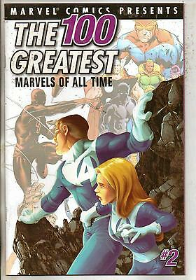 Marvel Comics 100 Greatest Marvels Of All Time #9 (#2 On Cover) VF+