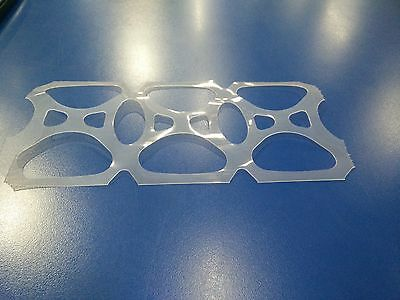 4,300ct Reel 6-Pack Plastic Rings (BEER/SODA) MADE IN USA---SAME DAY SHIPPING