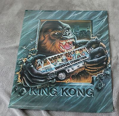 King Kong 1986 Mcginty Universal City Studios Tour PROMO Poster VGEX