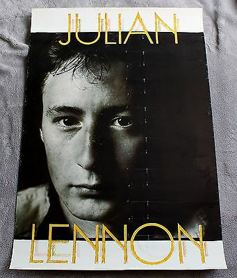Julian Lennon 1980s? Bigfoot Vancouver Canada Scarce Music Poster GVG C5
