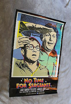 No Time for Sergeants 1958 Murray Hamilton Andy Griffith 1985 Video Store Poster