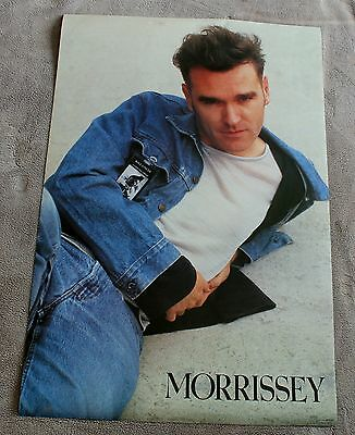 Morrissey 1991 SMITHS Rock Express Winterland OSP Kill Uncle Poster #8134 VGEX