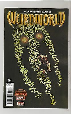 Marvel Comics Weirdworld #4 November 2015 1St Print Nm