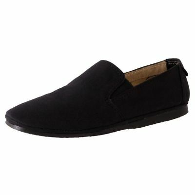 New Windsor Smith Men's Comfort Canvas Casual Slip On Shoe Rip Cheap