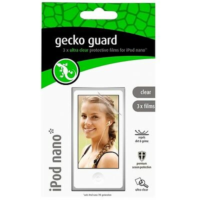 Gecko Screen Protector for iPod Nano 7 GG700208 RRP $19.95