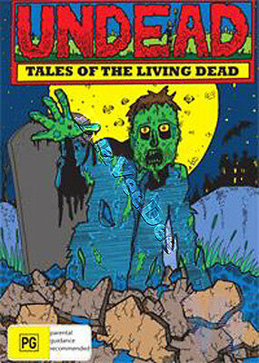 Undead - Tales Of The Living Dead (5 Films) NEW PAL/NTSC Classic Cult 2-DVD Set
