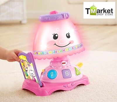 Baby Learning Lamp Toy Fisher-Price Colorful Lights Music Kids Activity Develop
