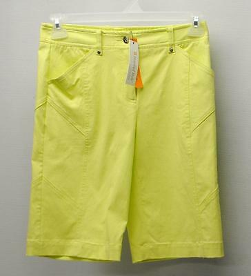 New Ladies Size 4 Spanner Inspired Style Citrus golf shorts