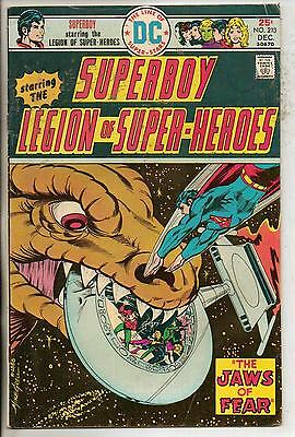 DC Comics Superboy & The Legion Of Super Heroes #213 December 1975 Scarce F+