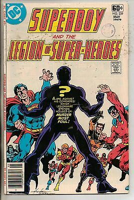 DC Comics Superboy & The Legion Of Super Heroes #239 May 1978 Giant Size VF