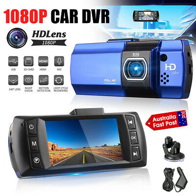 1080P FHD 2.7'' LCD Car DVR Dash Camera Video Recorder Night Vision Crash Cam