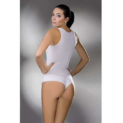Womens Bodysuit Sleeveless Leotard Lingerie Cotton Ladies Bodie Brazilian style