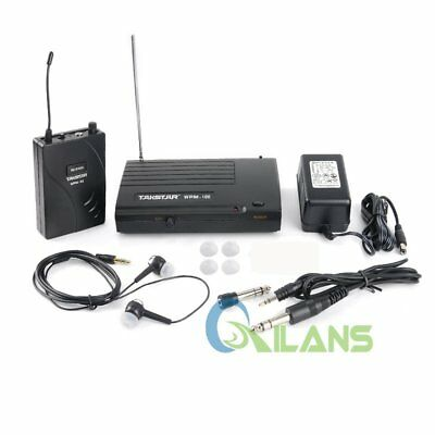 AU Takstar In-Ear WPM-100 Wireless Stage Monitor System Transmitter Receiver