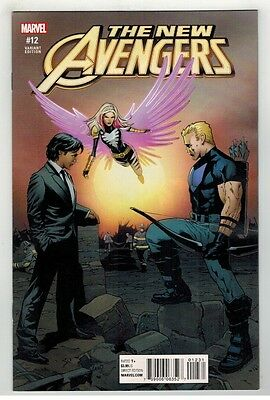 New Avengers #12 Greg Land Reenactment Variant Cover - Marvel Comics - 2016