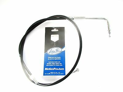 """Motion Pro Cable- Black Idle Cable- BT 96/Up Std +6"""" (35.5""""). Harley Custom Use."""