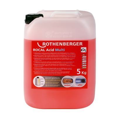 ROTHENBERGER 5kg Entkalkungschemie ROCAL Acid Multi | 1500000115