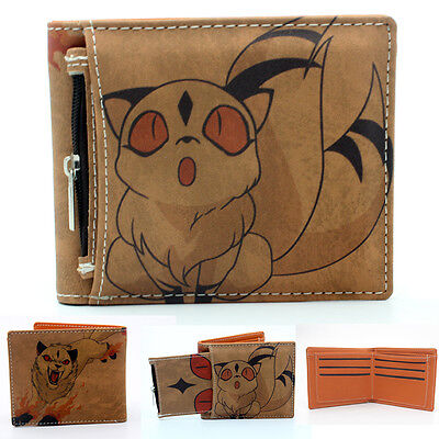 Anime Inuyasha Kirara Wallet Purse With Inserted Bag Holder Layer PU Otaku Cool