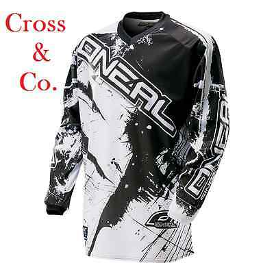 Maglia Cross Oneal ELEMENT ELEMENT SHOCKER black/white XL