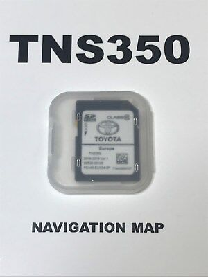 TOYOTA TNS350 NAVIGATION SD CARD EUROPE 2017-2018 Ver.1