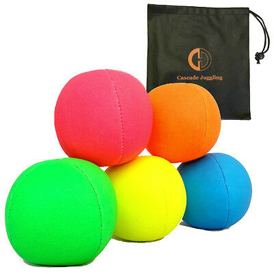 UV Smoothie Juggling Ball & Bag - Beginner Juggling Balls - 5 Colours - Per Ball