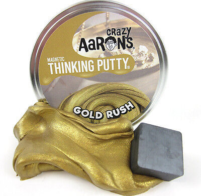 BLACK Strange Attractor Super MAGNETIC Thinking PUTTY Magnet desk toy Large NEW