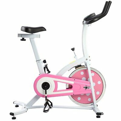 Sunny Health & Fitness Pink Indoor Cycling Bike P8100 New