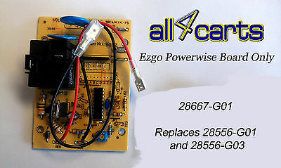 28667-G01 Ezgo Powerwise Charger Circuit Board | Not Junky Green Board | 28115