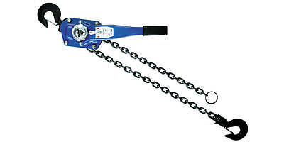 3T 5Ft Lift Lever Block Hoist Chain Ratchet Come Along
