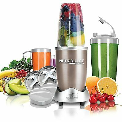 NUTRiBULLET Pro 900 Series Extractor 15 Piece Set 900 W - Champagne
