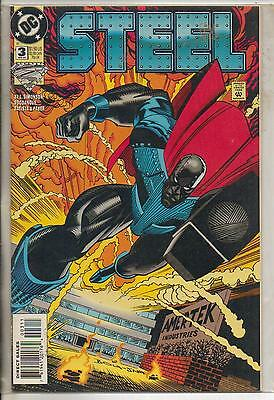 DC Comics Steel #3 April 1994 NM