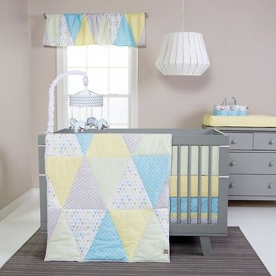 Trend Lab Triangles 3 Piece Crib Bedding Set. Delivery is Free