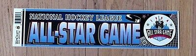 VINTAGE 1994 NEW YORK RANGERS ALL STAR GAME 12 inch BUMPER STICKER UNSOLD STOCK