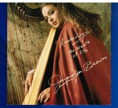 JACQUELYN BROWN Awakening The Breath Of Life CD NEW 1992 Celtic / Ancient Harp