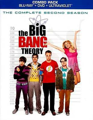 The Big Bang Theory: The Complete Second Blu-ray