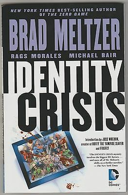 Dc Comics Identity Crisis Collected Edition Graphic Novel Nm
